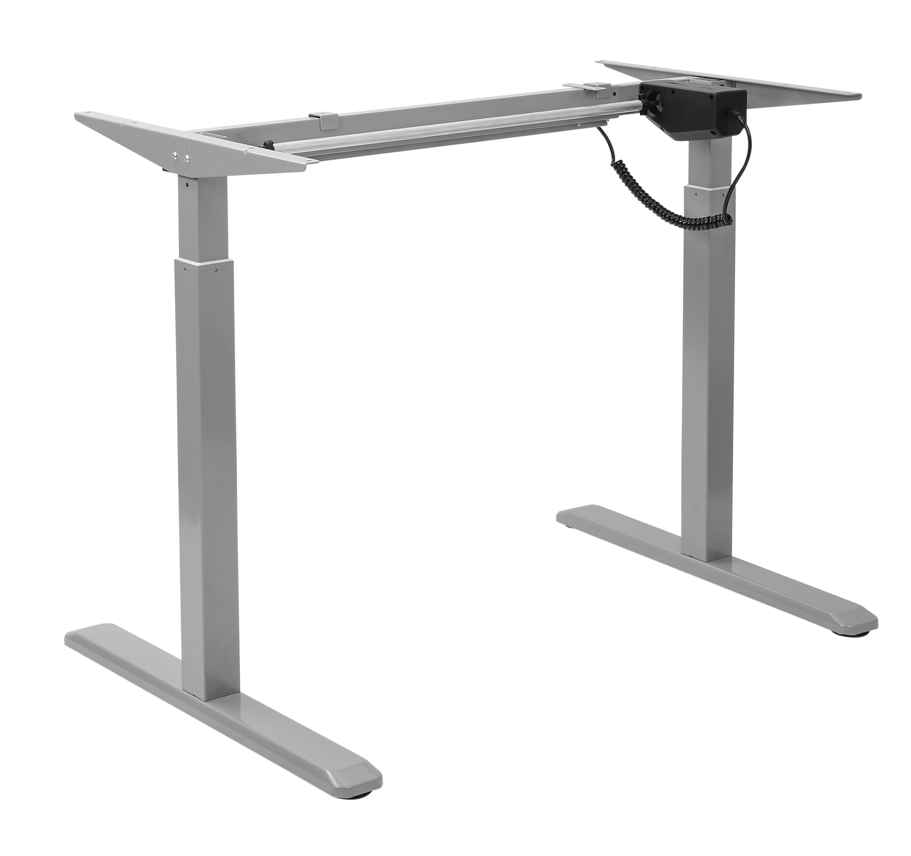 Electric sit/stand desk frames