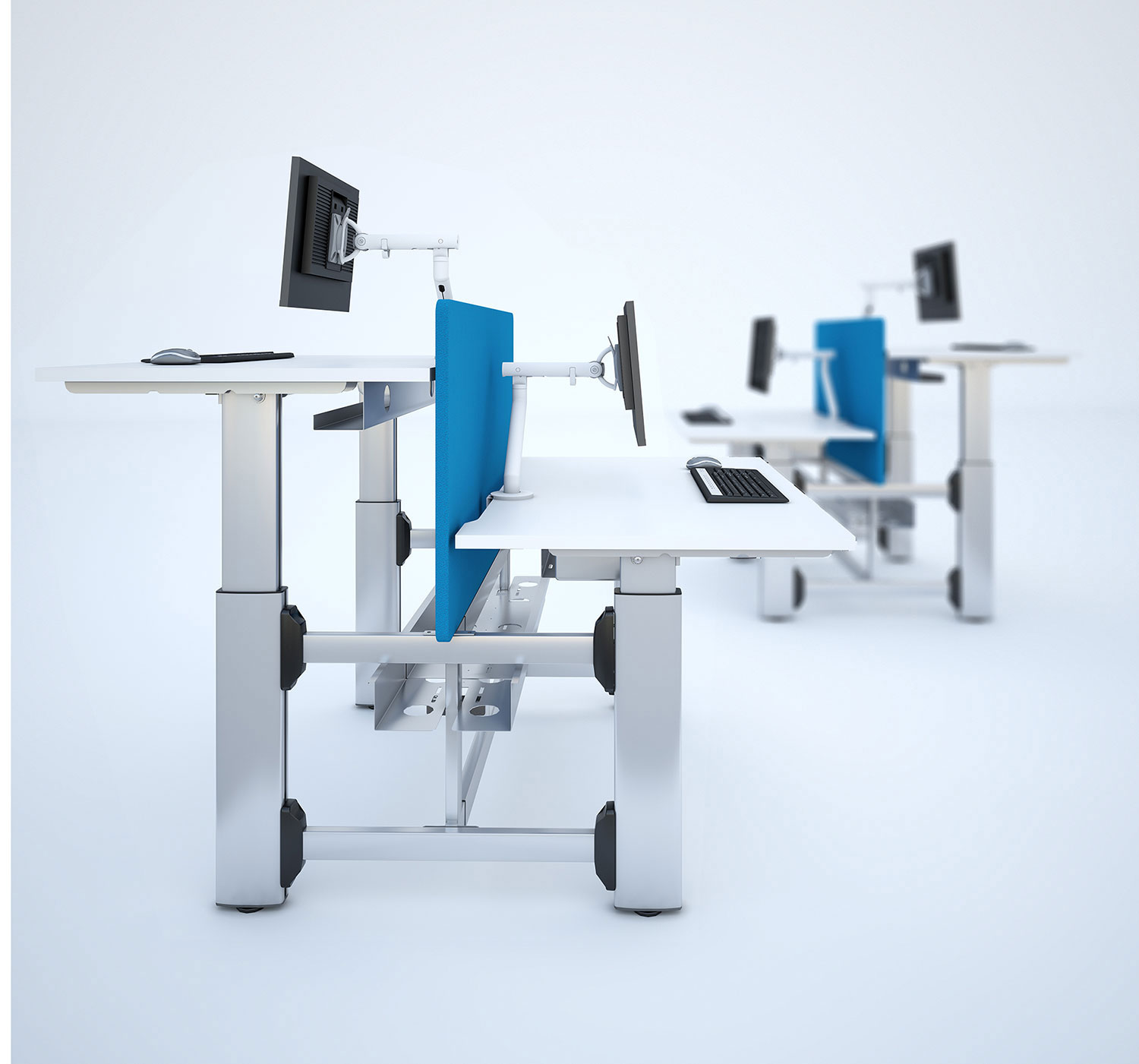 Sit Stand for Business Benchmodules