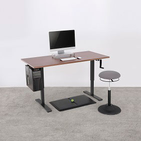 Smart, Twin Motor, 3 tier, Sit to Stand height Adjustable Desk/table Frame.