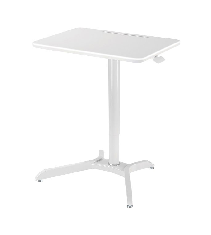GWS5 Sit to Stand height adjustable laptop work station