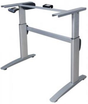 Deluxe Aluminium Electric Motorised Sit to stand Desk Frame