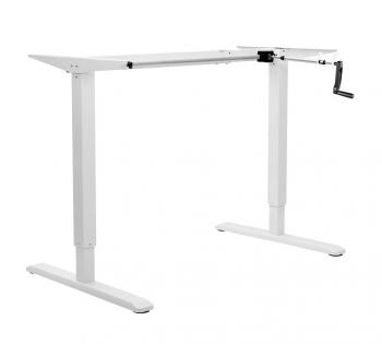 Sit to Stand, , desk Frame. manual operation